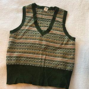 J. Crew fair isle sweater vest